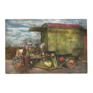 Street Cleaner - The hygiene machine 1910 Placemat