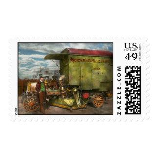 Street Cleaner - The hygiene machine 1910 Postage