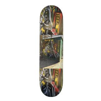 Street color skateboard