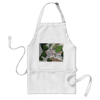 Street Corner In Downtown Los Angeles Adult Apron
