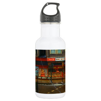 Street Corner Market Stainless Steel Water Bottle