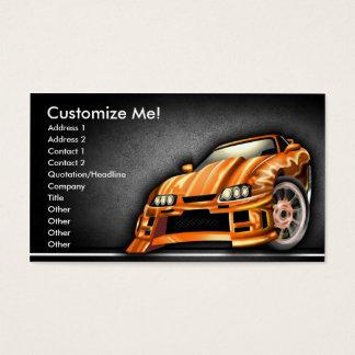 Street Customs Style Business Card