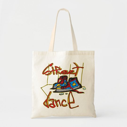 Street Dance and Shoes Tote Bag