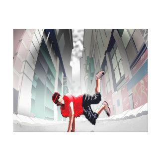 Street Dance Canvas Print