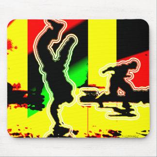 Street Dance Hip Hop Mouse Pad
