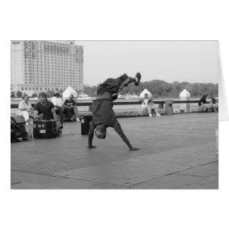 Street Dancers Card