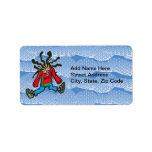 Street Dancing Doll Personalized Address Labels