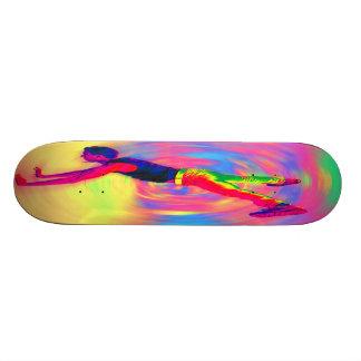 Street Dancing Rainbow Radial Skate Board Decks