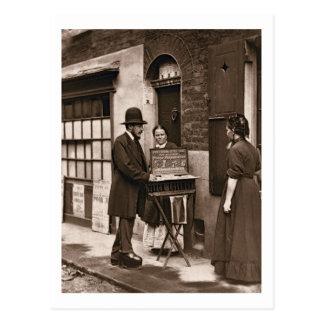 Street Doctor, 1876-77 (woodburytype) Postcard