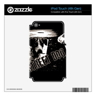 Street dogs decal for iPod touch 4G