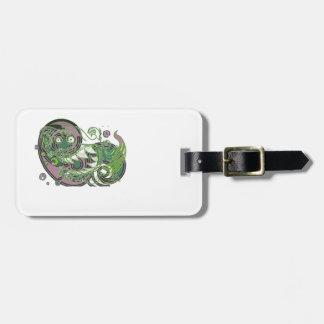 Street Dragon Luggage Lag Travel Bag Tag