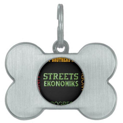 STREET EKONOMIKS PET TAG