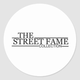 Street Fame Logo items Classic Round Sticker