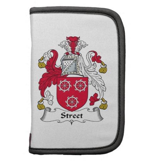 Street Family Crest Folio Planner