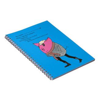 Street fashion: PiGgy Notebook