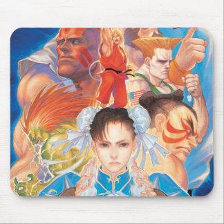 Street Fighter 2 Chun-Li Group Mouse Pad