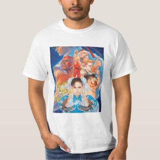 Street Fighter 2 Chun-Li Group T-Shirt