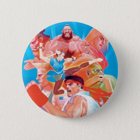 Street Fighter 2 Ryu Group Button