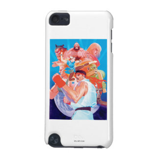 Street Fighter 2 Ryu Group iPod Touch (5th Generation) Covers