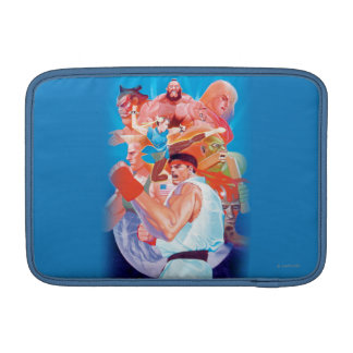 Street Fighter 2 Ryu Group Sleeves For MacBook Air