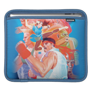 Street Fighter 2 Ryu Group Sleeves For iPads