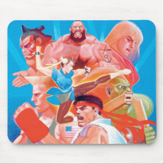 Street Fighter 2 Ryu Group Mousepad