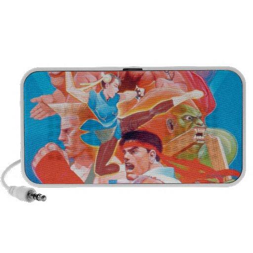 Street Fighter 2 Ryu Group iPod Speaker