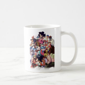 Street Fighter 3 Third Strike Cast Coffee Mug