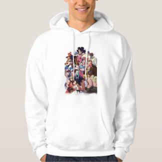 Street Fighter 3 Third Strike Cast Hoodie