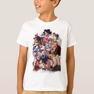 Street Fighter 3 Third Strike Cast T-Shirt