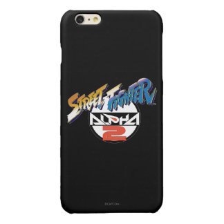 Street Fighter Alpha 2 Logo Glossy iPhone 6 Plus Case