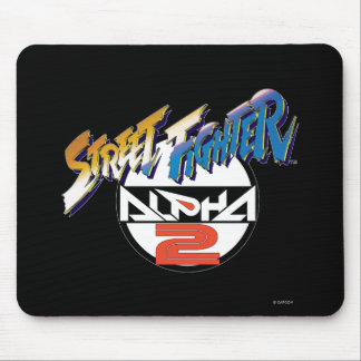Street Fighter Alpha 2 Logo Mouse Pad
