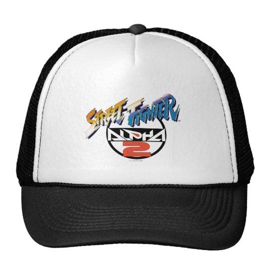 Street Fighter Alpha 2 Logo Trucker Hat
