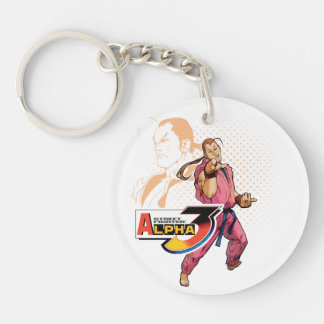 Street Fighter Alpha 3 Dan 2 Keychain