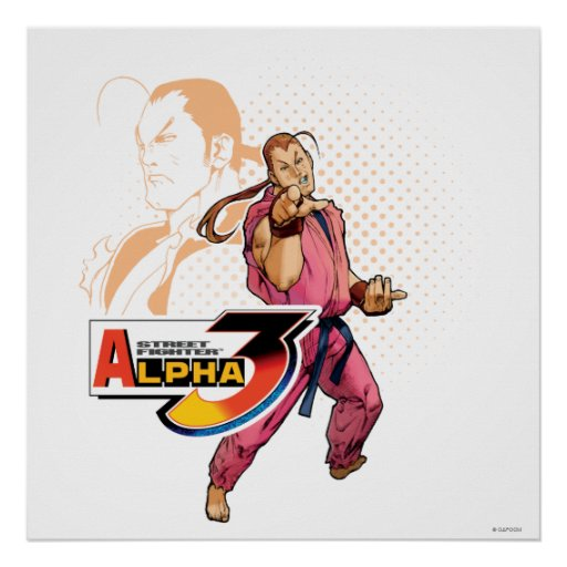 Street Fighter Alpha 3 Dan Posters