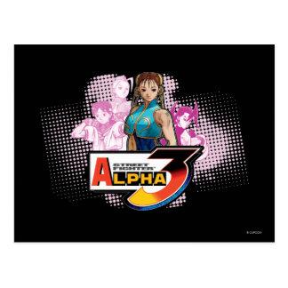 Street Fighter Alpha 3 Femme Fatale Postcard