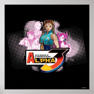 Street Fighter Alpha 3 Femme Fatale Poster