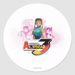 Street Fighter Alpha 3 Femme Fatale Sticker