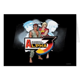 Street Fighter Alpha 3 Ken & Ryu Card