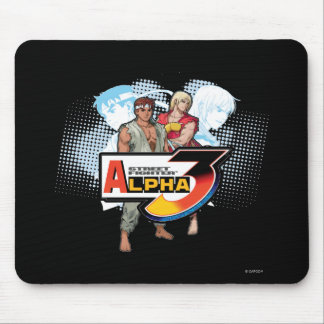 Street Fighter Alpha 3 Ken & Ryu Mouse Pad