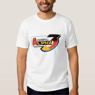 Street Fighter Alpha 3 Logo T Shirt