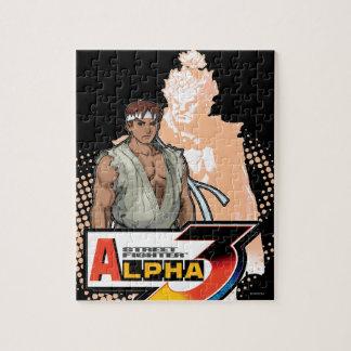 Street Fighter Alpha 3 Ryu & Akuma Jigsaw Puzzle