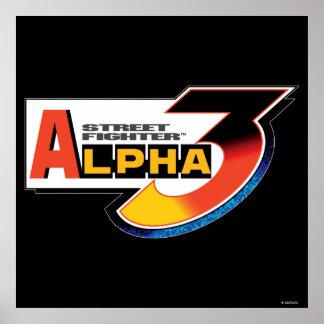 Street Fighter Alpha 3 Shadowloo Poster