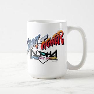 Street Fighter Alpha Logo 2 Classic White Coffee Mug