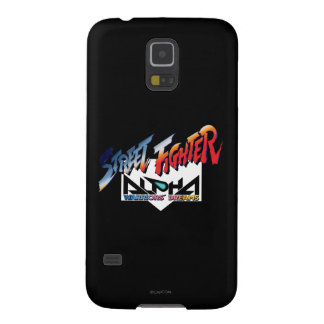 Street Fighter Alpha Logo Galaxy S5 Covers