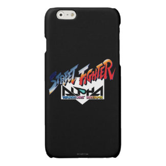Street Fighter Alpha Logo Glossy iPhone 6 Case
