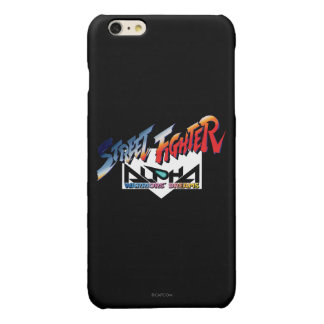 Street Fighter Alpha Logo Glossy iPhone 6 Plus Case