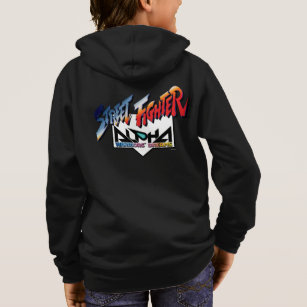 Street Fighter Alpha Logo Hoodie