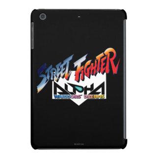Street Fighter Alpha Logo iPad Mini Cover