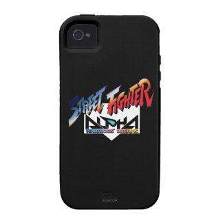 Street Fighter Alpha Logo iPhone 4 Covers
